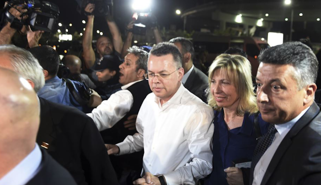 Pastor Andrew Brunson Released from Prison, Ending US-Turkey Feud