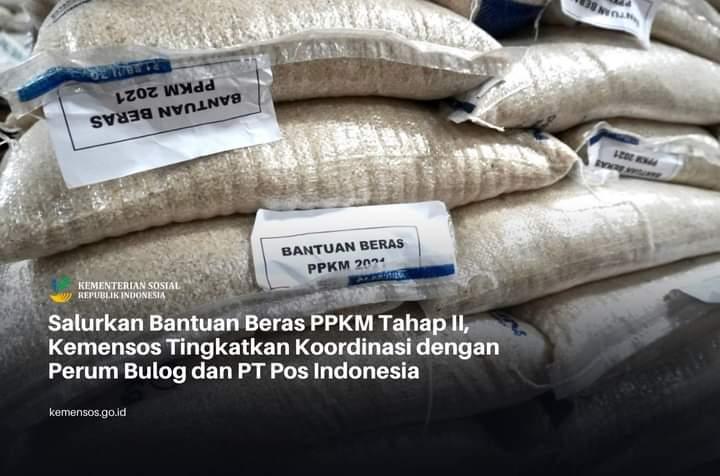 Pemerintah Kembali Akan Menyalurkan Beras PPKM Tahap II, 8,8 Juta jadi Penerima