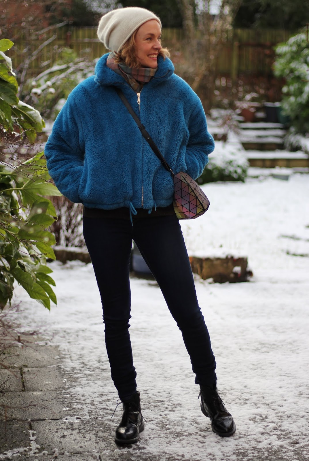 Skinny Levis, Dr Martens and a Faux Fur Jacket | Fake Fabulous | Winter