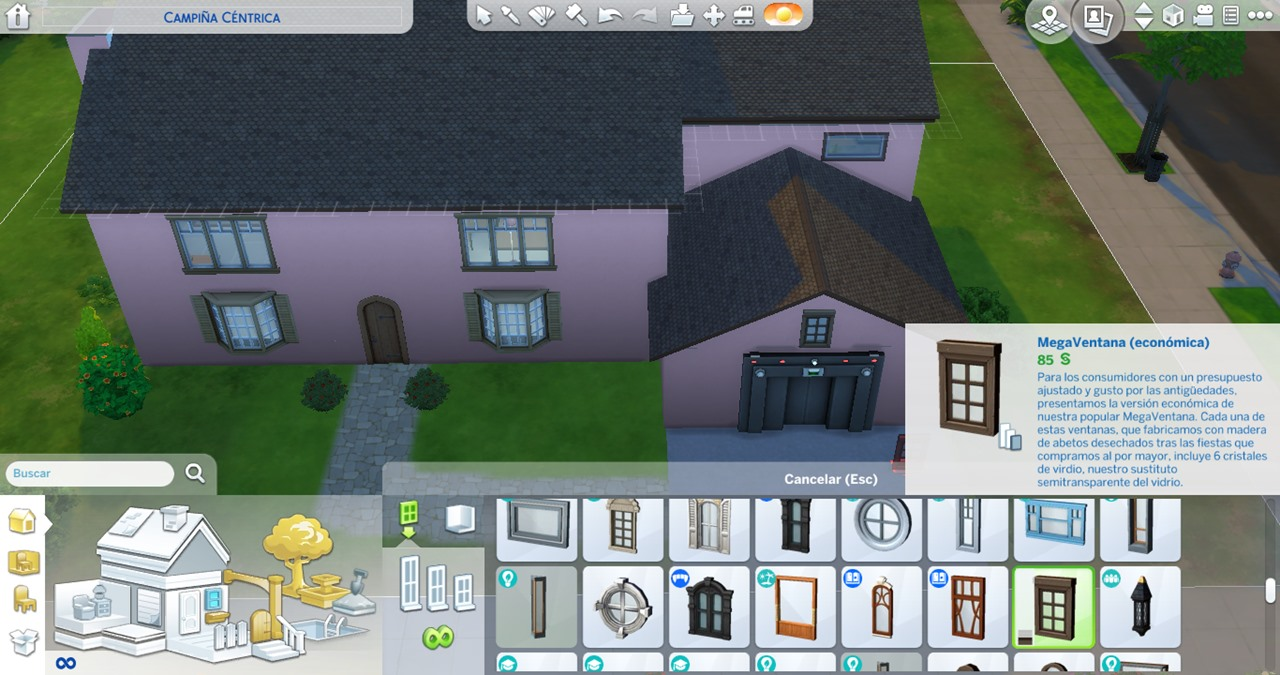Mega Window in The Sims 4