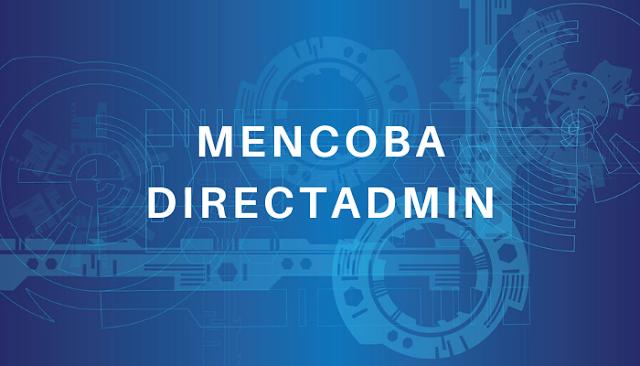 Mencoba DirectAdmin