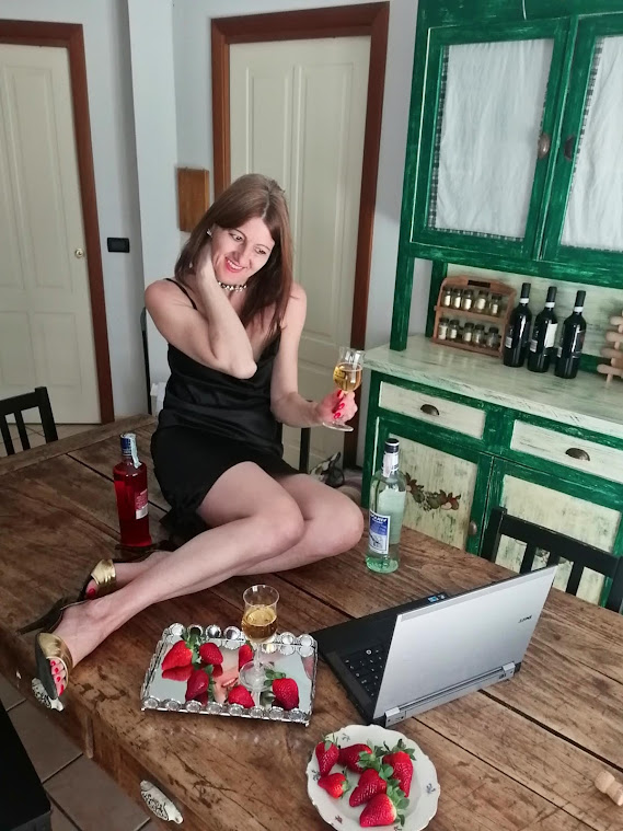 influencer aperitivo online