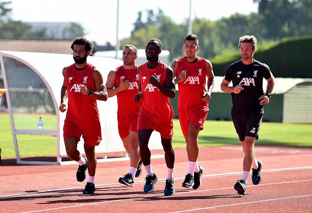 Салах, Фирмино, Алиссон, Шакири и Кейта вернулись в расположение «Ливерпуля»