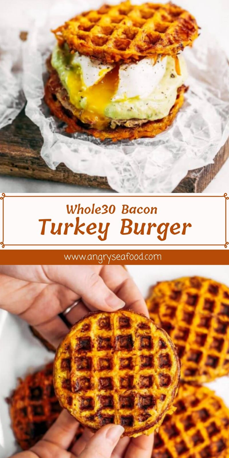 Whole30 Bacon Turkey Burger