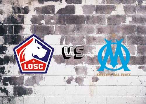 Lille vs Olympique Marseille  Resumen