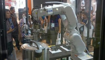 Wow, Epson Luncurkan Robot Baru  C8 Series