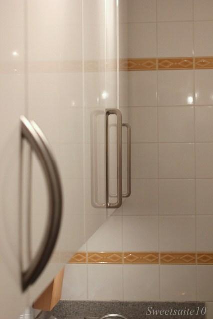 Spann handle installation partially complete