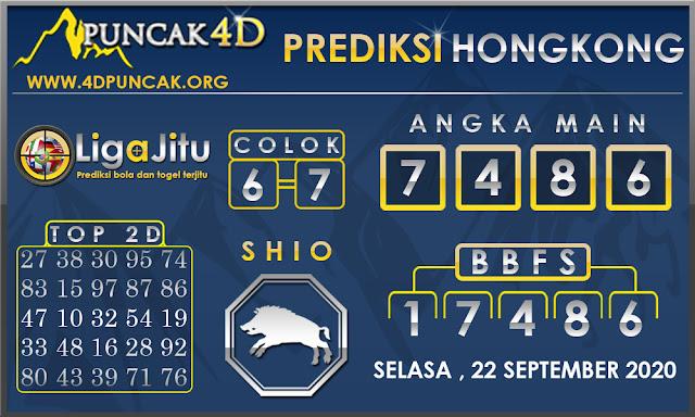 PREDIKSI TOGEL HONGKONG PUNCAK4D 22 SEPTEMBER 2020