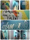 Mural Painting (BRI Cabang Ampera)