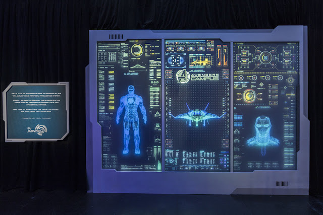 D23 Expo 2019 Marvel attractions, Disneyland Avengers Campus, Jarvis