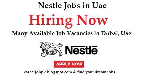 Latest jobs in Nestle Dubai 2016
