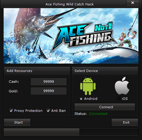 Ace fishing wild catch hack gold and cash no password for Fish table cheat app