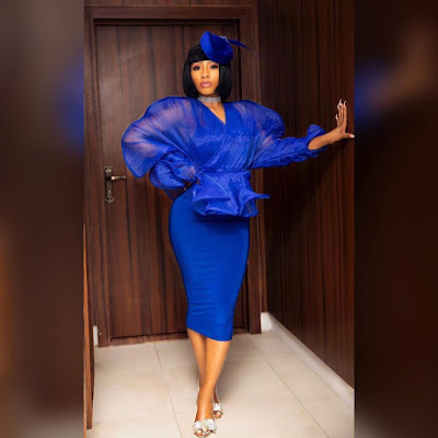Mercy Eke fashion and style looks latest