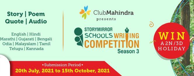 #StoryMirror Schools Writing Competition - Season 3