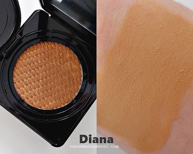Looke BB Cushion Swatch Shades Diana Honey Beige