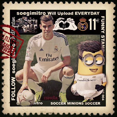 Minion de Gareth Bale Real Madrid