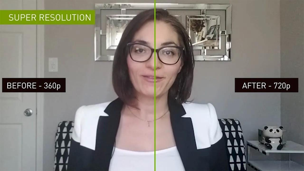 Nvidia تكشف عن Maxine AI Tech لتحسين جودة مكالمات الفيديو
