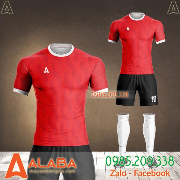 top áo bóng đá đẹp màu đỏ