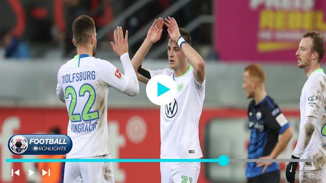 Paderborn vs Wolfsburg – Highlights