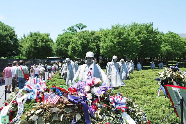 Korean War Veterans Memorial en Washington