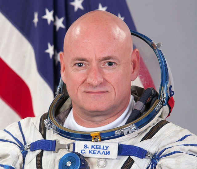 U.S. astronaut and Expedition 46 Commander Scott Kelly