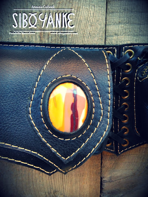 SiboYanke+Leather Utility Belt+Festival Belt+Leather Festival Belt+Festival Utility Belt+Leather Waist Bag+Utility Belt Festival+Festival+GürteltascheGemsatones+Chrysocolla+Aventutine+Epodite+Labradorite+Moonstone