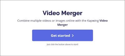 Cara Menggabungkan Video Secara Online di Kapwing