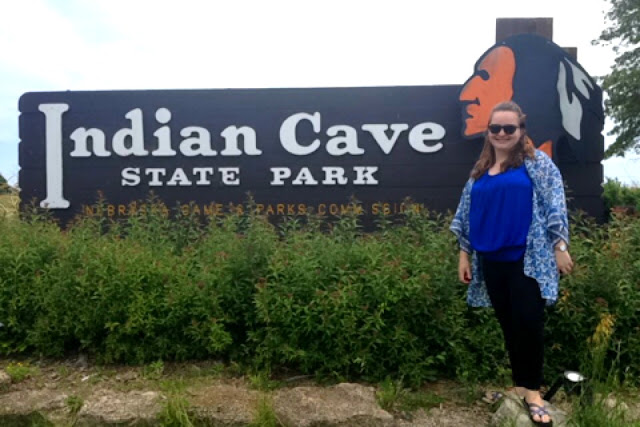 Day Trip | Indian Caves from Courtney's Little Things