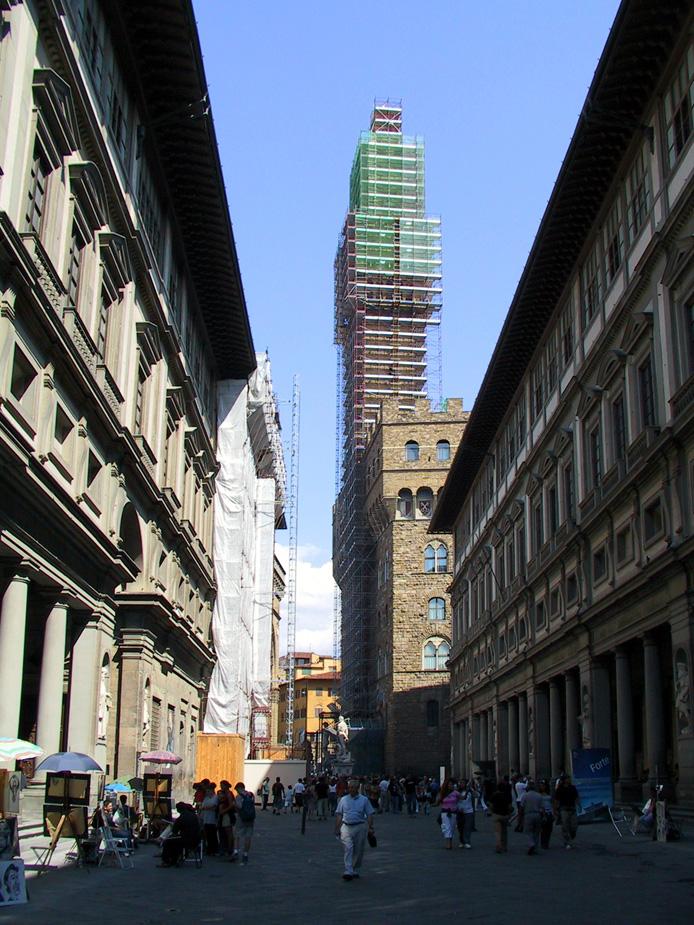 La Galleria degli Uffizi 1560-1580 | Firenze
