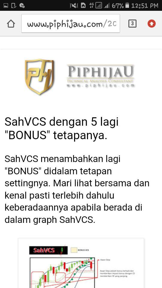 """SahVCS menerangkan 5 """"BONUS"""" tetapanya."""