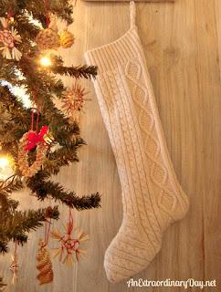 calze della befana riciclando un maglione