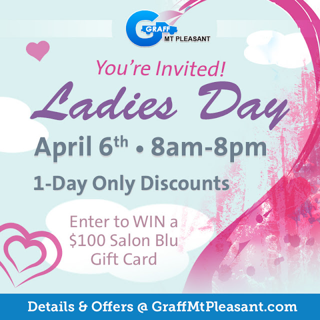 Save Money and Win Big During Ladies Day at Graff Chevrolet Mt. Pleasant