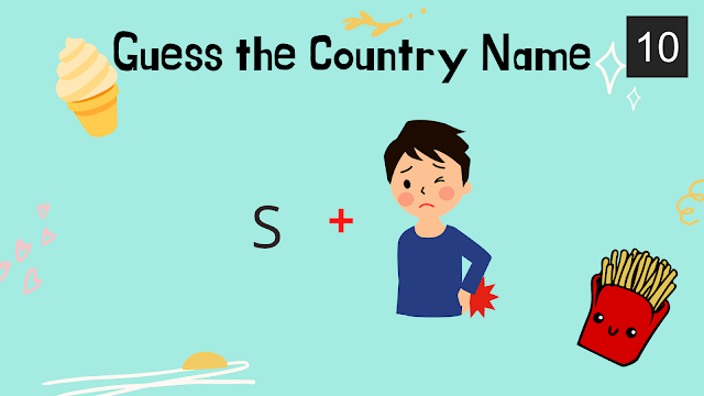 Can you guess the Country Name? - Riddle