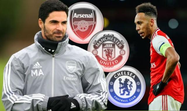 Aubameyang quyết rời Arsenal: MU - Chelsea gây sốc, bi kịch Sanchez - Van Persie? 2
