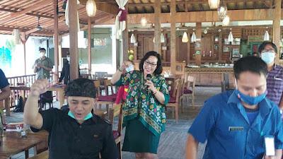 Rapat kerja Program Pemberdayaan Masyarakat Anti Narkoba di Lingkungan Swasta - BNN Propinsi Bali - Santy Sastra Public Speaking