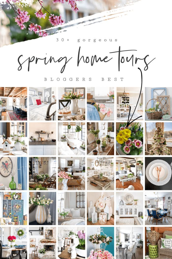 Blogger's best Spring home tour
