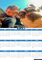 Calendarios 2021 personalizables...