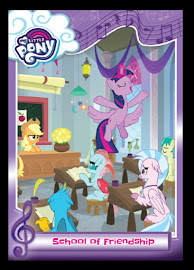 My Little Pony School of Friendship Series 5 Trading Card