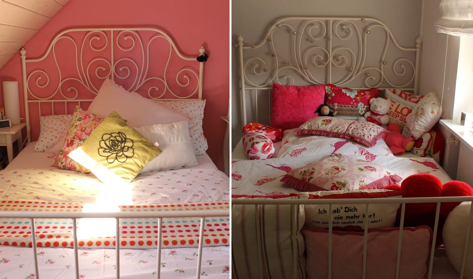 Platzbei2 1 Bett 2 Unterschiedliche Dekorationen