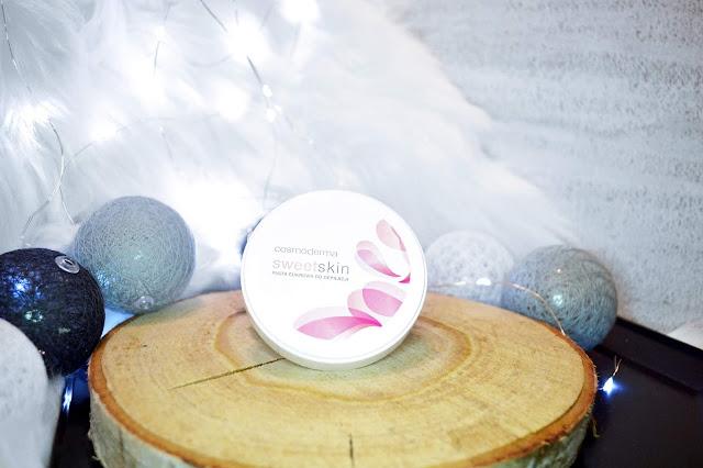 Cosmoderma depilacja pastą cukrową, sweet skin, pielęgnacja