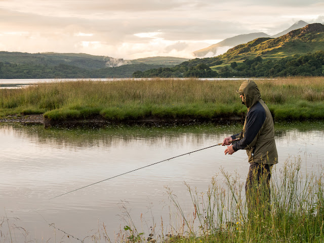Photo of Phil fishing on Loch Awe