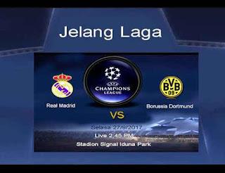 Jelang Laga Real Madrid vs Dortmund