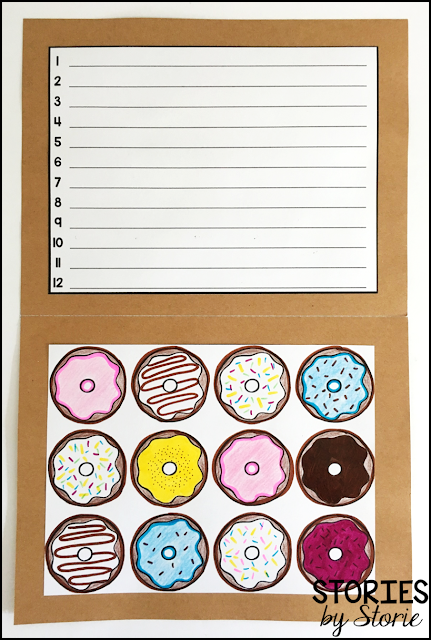 This paper donut box craft opens up to reveal a dozen ways students can show kindness. Students can decorate the dozen donuts any way they choose.