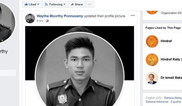Kematian Adib: Waytha Moorty dipercayai nyah aktif akaun Facebook