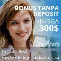 no deposit bonus forexmart $300