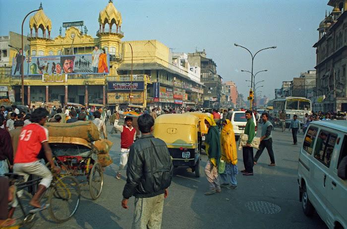 New Delhi, Chandni Chowk, Majestic, Bhai Mati Da, © L Gigout, 1991