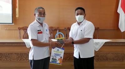 SMK TI Bali Global Badung - Audiensi Ke Desa Tibubeneng Kecamatan Kuta Utara Kabupaten Badung