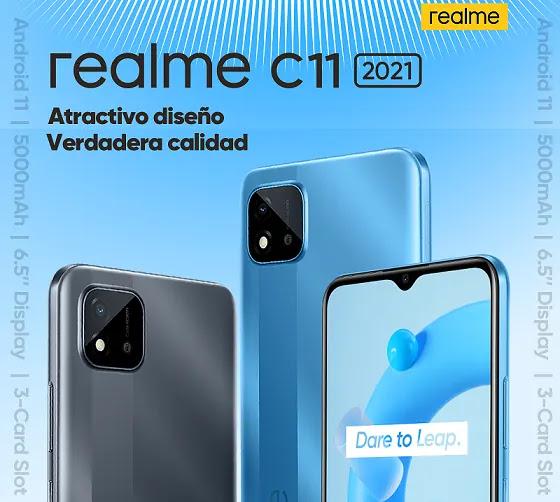 REALME C11 2021 EN PERÚ