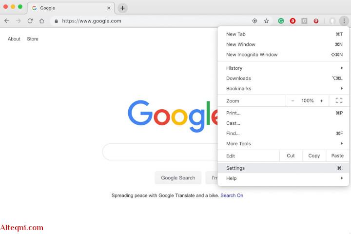 متصفح جوجل كروم محمول