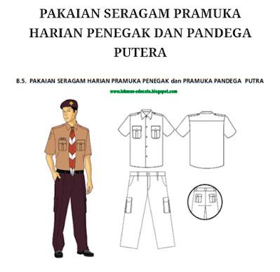 Pakaian Seragam Pramuka Siswa